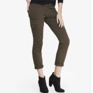 🥭EXPRESS Skinny Stella Low Rise Ankle Cargo Pants